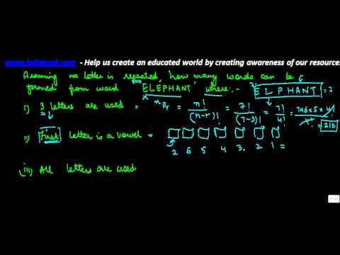 715.Permutation and Combination   Problem 6