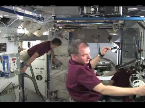 Discovery Crew Bids Adieu