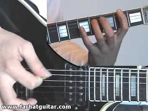 Enter sandman Metallica Guitar Cover Part 5 www.FarhatGuitar.com