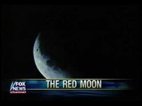 Interview on Fox news about a lunar eclipse