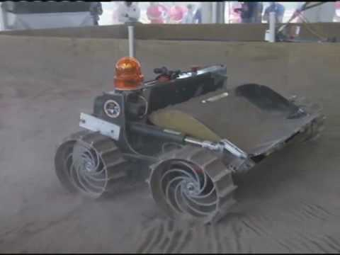 "Robotics Students ""Dig Up Dirt"" for Scholarship"