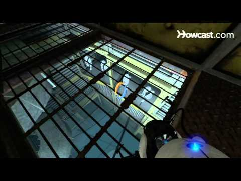 Portal 2 Secrets / Chapter 3 - Room 16/22 - The Turret Song