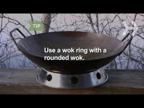 How To Grill With a Wok