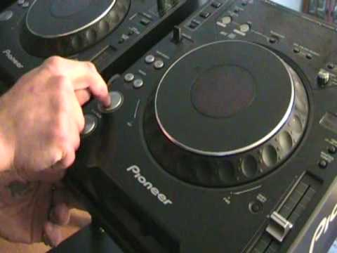 Pro Tec Metal stand for 2 X Pioneer CDJ-1000