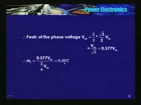 Lecture - 40 Power Electronics