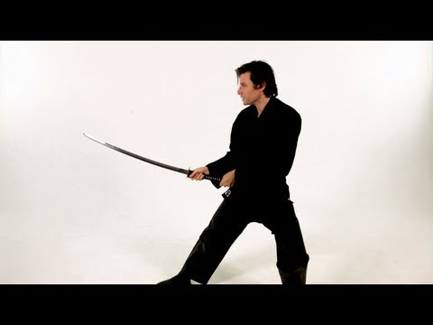 Basic Strikes: Thrust | Katana Sword Fighting