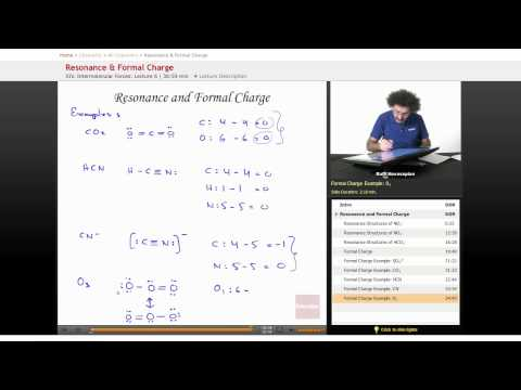 AP Chemistry: Resonance & Formal Charge