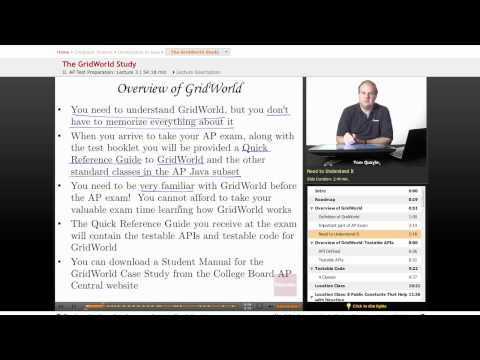 AP Computer Science: The GridWorld Study