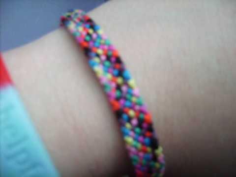 How to make a Frienship Bracelet: Ragrug