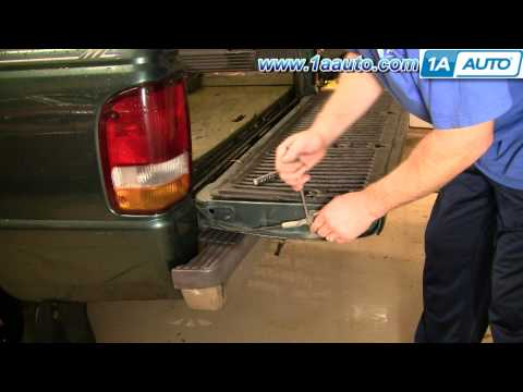 How To Install Replace Tailgate Cables 93-97 Ford Ranger 1AAuto.com