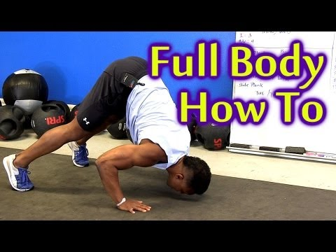 X Train Full Body Workout: How To Video for Beginners to Advanced | Fast Intense Training