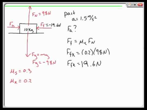 Force Sample Problems: Chapter 5.2-5.3 review