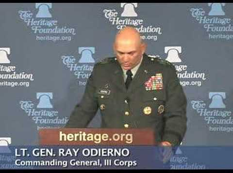 "Gen. Odierno on the impact of the ""Sons of Iraq"""