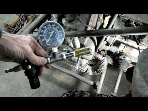 Automotive Cylinder Leak Down Test