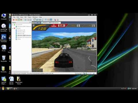 Testing 3D Games in VMWare Workstation (Virtual PC)