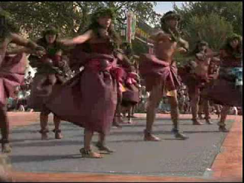 Hula performance by The Halau 'O Kekuhi hula ensemble from the Big Island of Hawai'i