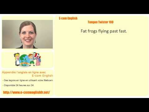 E-com English: Tongue Twister 17/100