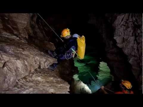 Swimming underground