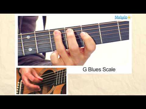 How to Play a G Blues Scale on Guitar