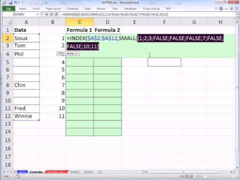 Excel Magic Trick 916: Remove Blanks In Data Validation Drop Down List 5 Examples