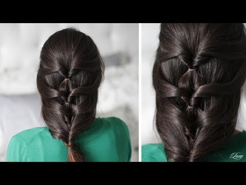 Layered Twist Around Hairstyle