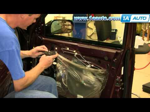 How To Install Replace Inside Door Handle Toyota Avalon 95-99 1AAuto.com