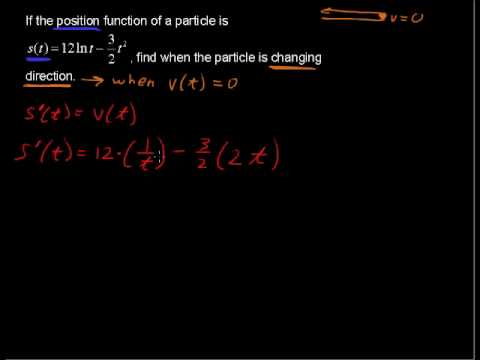 How to Use Derivatives to Find Velocity - Calculus explained