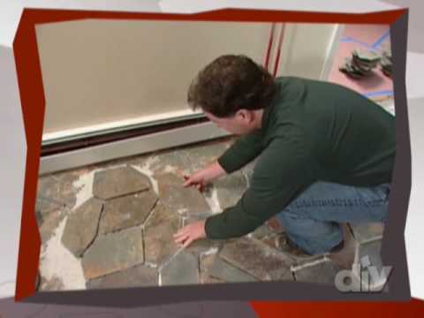 Irregular Stone Floor-DIY