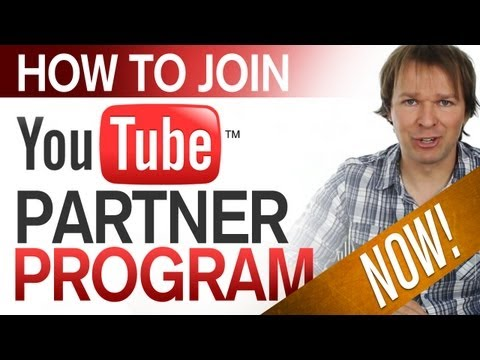 How To Join The YouTube Partner Program... like... right now!