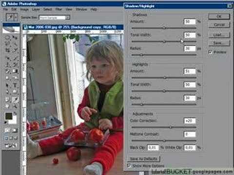 Photoshop: Too dark foreground correction