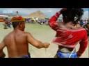 Mongolian wrestling match - Last man Standing - BBC