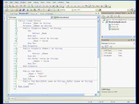Visual Basic tutorial Overloading