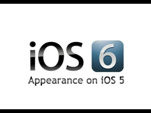 How to Get iOS 6 Appearance on iOS 5 iPhone, iPod Touch & iPad (Theme)