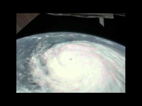 Station Cameras Capture New Views of Major Hurricane Irene