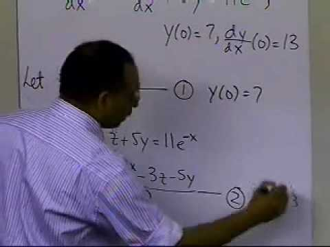 Higher Order Differential Equations: Example Heun's Method: Part 1 of 3