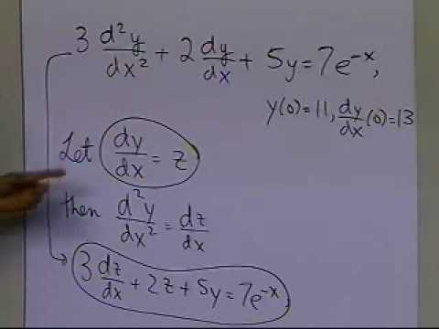 Higher Order Ordinary Differential Equations: Background