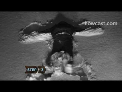 How to Make Snow Angels
