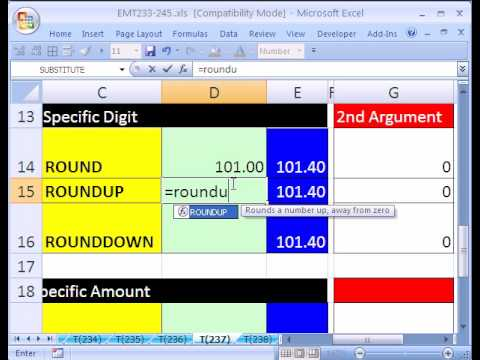Excel Magic Trick #237: ROUND to Digit or Multiple