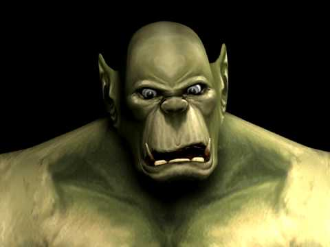 Orc Face Animation test