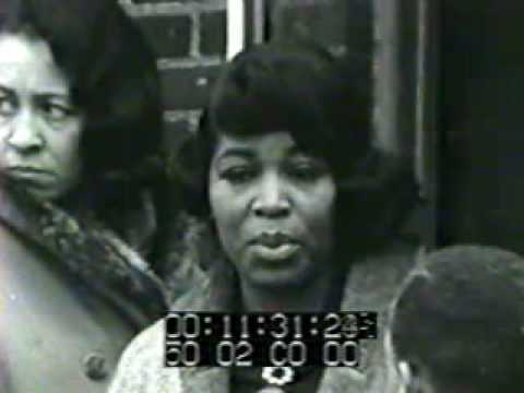 Betty Shabazz on the Firebombing of her home (1 of 2)