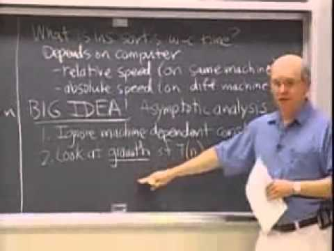 Saylor CS303: Introduction to Algorithms Lecture 1