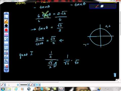 Solving Trig Equations Part Deaux