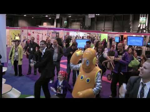 Moby dance off at the Scottish Learning Festival 2010
