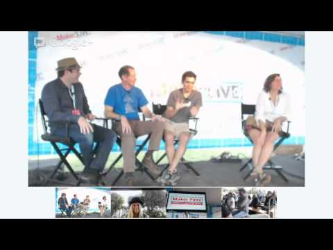 Mini Maker Faires Panel Discussion on Make: Live Stage at World Maker Faire 2012