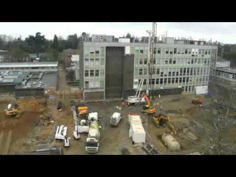 Construction progress, Feb 2011 - Sinclair