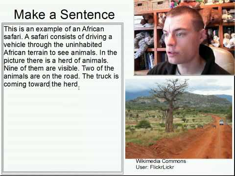 Learn English Make a Sentence and Pronunciation Lesson 114: Safari Adventure