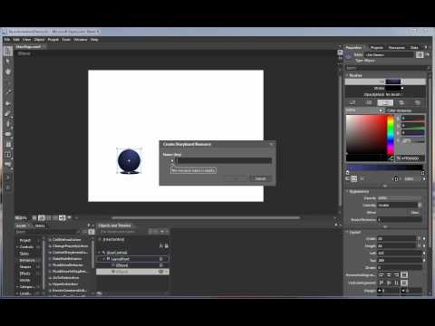 Create Silverlight Animations Using Expression Blend 4