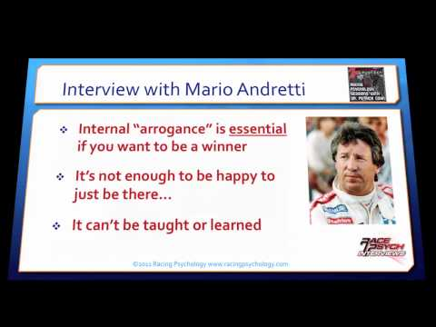 Interview with Mario Andretti: Psychology of Racing