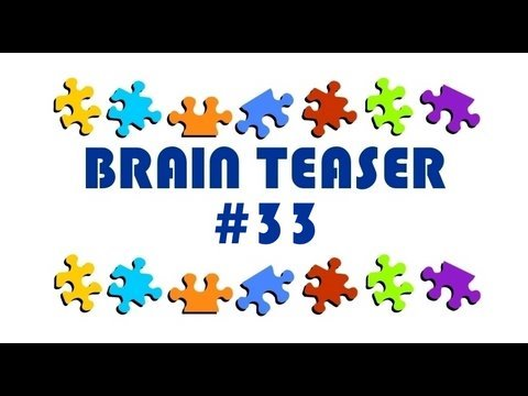 Video Brain Teaser #33