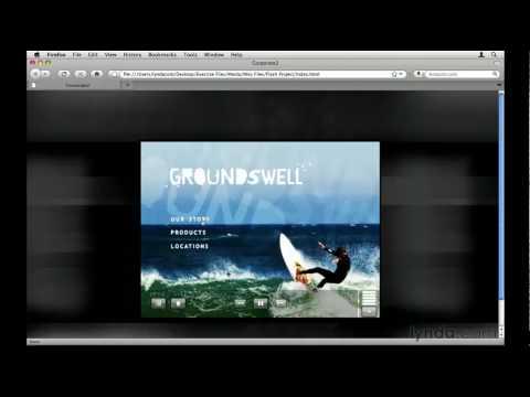 How to create a Flash web site with Encore   lynda.com tutorial